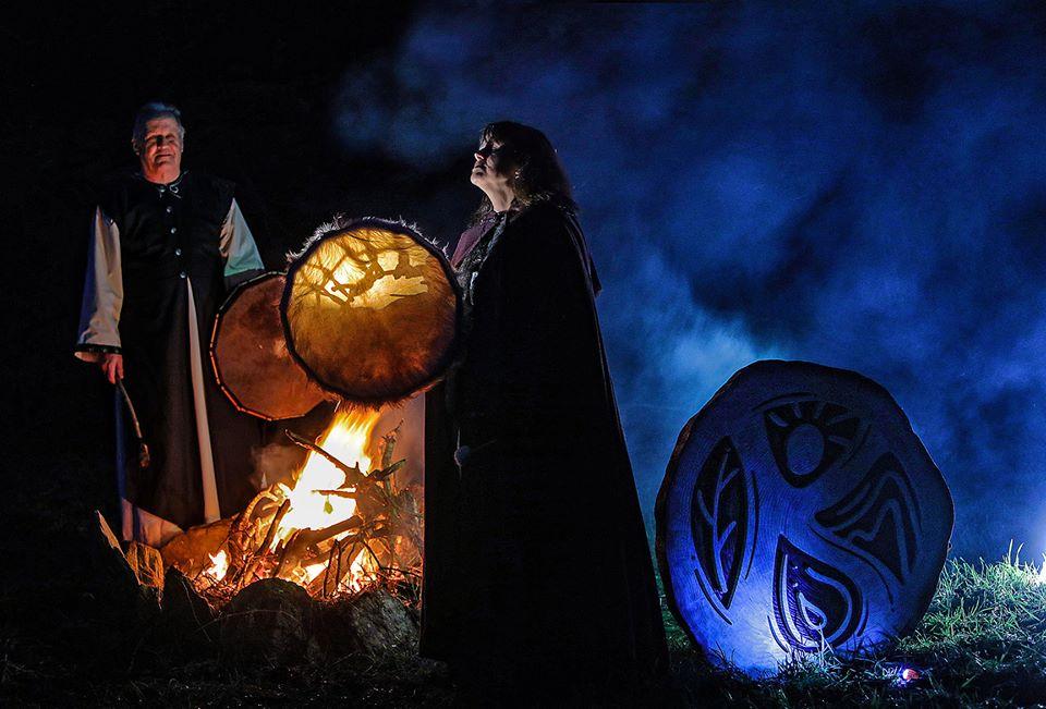 Karen and JanTetteroo - Druid Grove of Anu